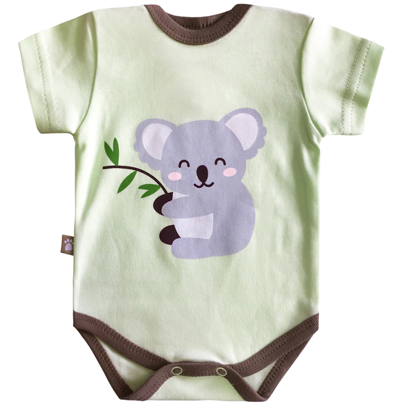 Bodysuit baby КОТМАРКОТ 9198 embroidered lace panel bodysuit