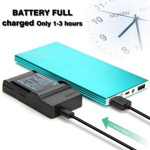Image 4 - DMW BCF10E Batterij USB Oplader voor PANASONIC lumix Camera DMC FS25 DMC FS30 DMC FS42 DMC FS62 DMC FT1 DMC FT2 DMC FT3 DMC FX48