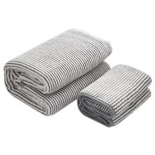 Набор хлопковых полотенец, 2 банных и 2 ручных полотенца из микрофибры, плотное полотенце из углеродного волокна для взрослых, мягкое сухое полотенце для волос для женщин