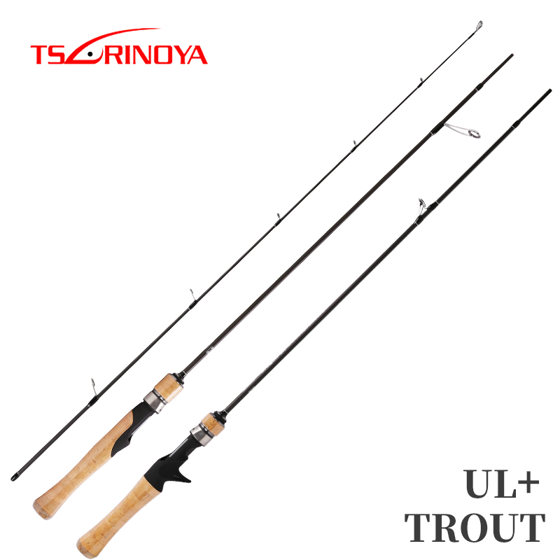 TSURINOYA Fishing Rod DRAGON 1.82m 1.52m UL Spinning Casting Lure Rod Soft Power Carbon Fishing Rod Trout-in Fishing Rods from Sports & Entertainment    1