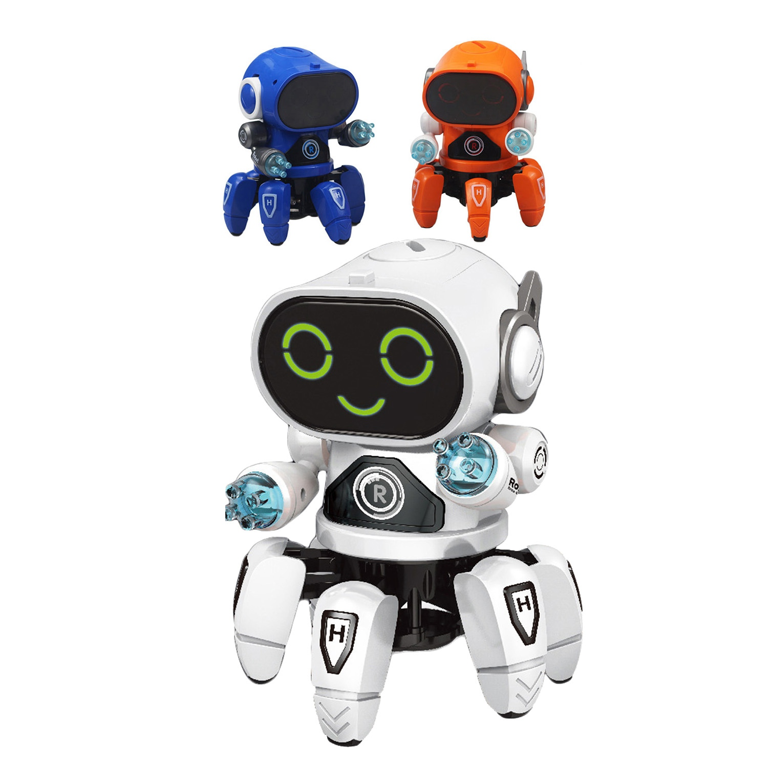 FBIL-Intelligent Induction Robot Diy Assembled Electric Robot Kids Educational Toys