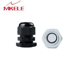 Hot Sale 10PCS PG16 Black Or White Plastic Connector Waterproof Cable Glands Ip68 China