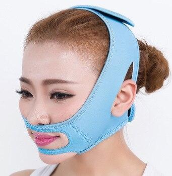 V przyrząd do modelowania twarzy twarzy bandaż wyszczuplający relaks podnieś kształt pasa podnieś zmniejsz podwójny podbródek kształt twarzy