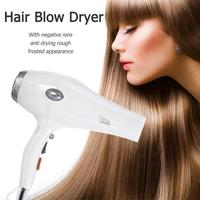 2300W Electric Hair Dryer Negative Ion Hairdryer Thermostatic Hair Blow Dryer High Power Styling Tools for Hair Salon EU Plug