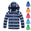 Chaquetas impermeables para niño, ropa de exterior, chaqueta deportiva, abrigo caliente de vellón Polar a prueba de viento, chaqueta para niño, cortavientos con capucha para niño