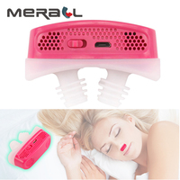 Electronic Anti Snoring Devices New Nose Clip Nose Breathing Apparatus Apnea Aid Device Nasal Dilators Stop Snoring Devices Drop