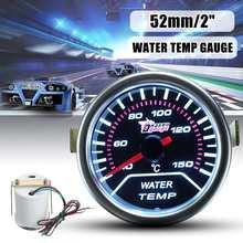 2 ''52 мм Датчик температуры воды Автомобильный светодиодный индикатор дыма