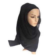 Fashion 2019 New Muslim Hijab Cotton Female Scarves Women Scarf Shawl Turban Wrap Headband