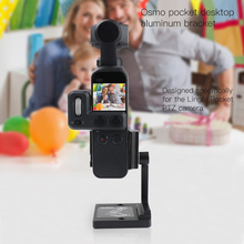 HOBBYINRC Aluminum Alloy Table Fixing Bracket Holder Adjustable for DJI Osmo Pocket RC Accessories