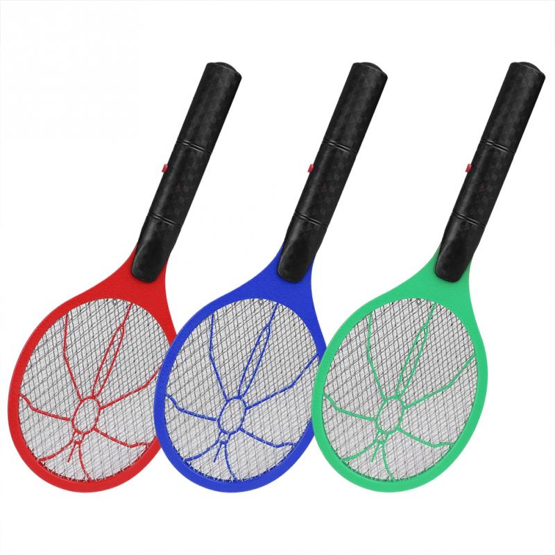 Противомоскитная мухобойка, беспроводная батарея, Электрический мухобойка, ракетка, убийца насекомых