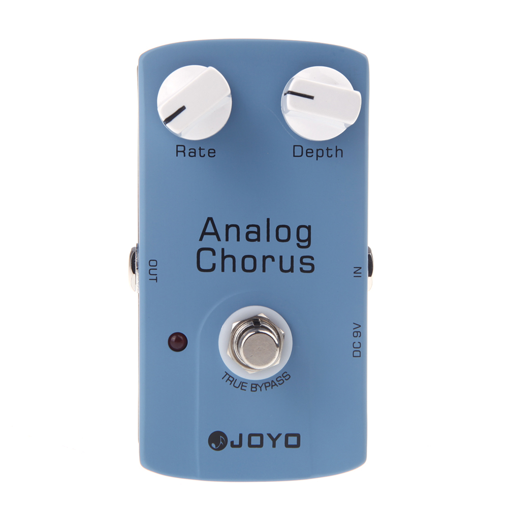 JOYO JF 37 ANALOG CHORUS Electric Guitar Effect Pedal with True Bypass