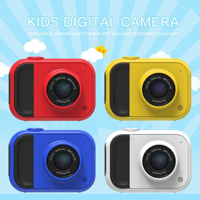 2019 Fashion Kids Camera HD 1080P Portable DSLR Digital Video Camera For Home Travel For Children Gift