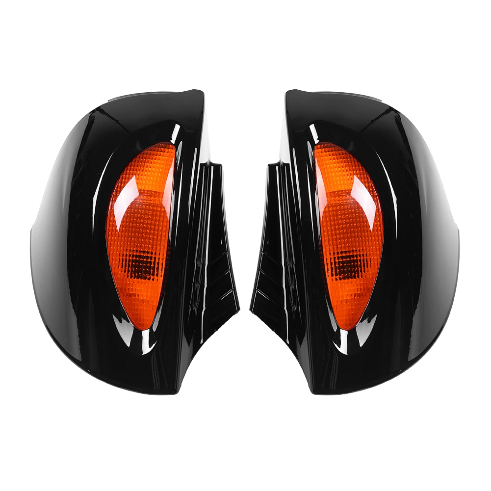 For BMW R1100RT R1150RT R850RT 1 Pair Motorcycles Rearview Glass Side Mount Mirrors with Signal Lens