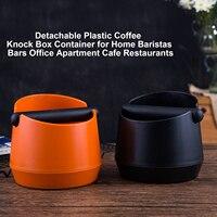 Behogar Çıkarılabilir Plastik Kahve Vuruş kutu konteyner Ev için Baristas Barları Ofis Daire Cafe Restoranlar