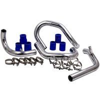 Brand New Front Mount Intercooler Piping Kit For 98 05 VW JETTA GOLF GTI with 1.8L/ 1.8T Turbochaged l4 Engines ONLY