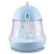 Night Light For Children Chick Shape Press Sensor Lava Lamp Music Player Cartoon Kid Led Lights Baby Music Box With Rotated Tr