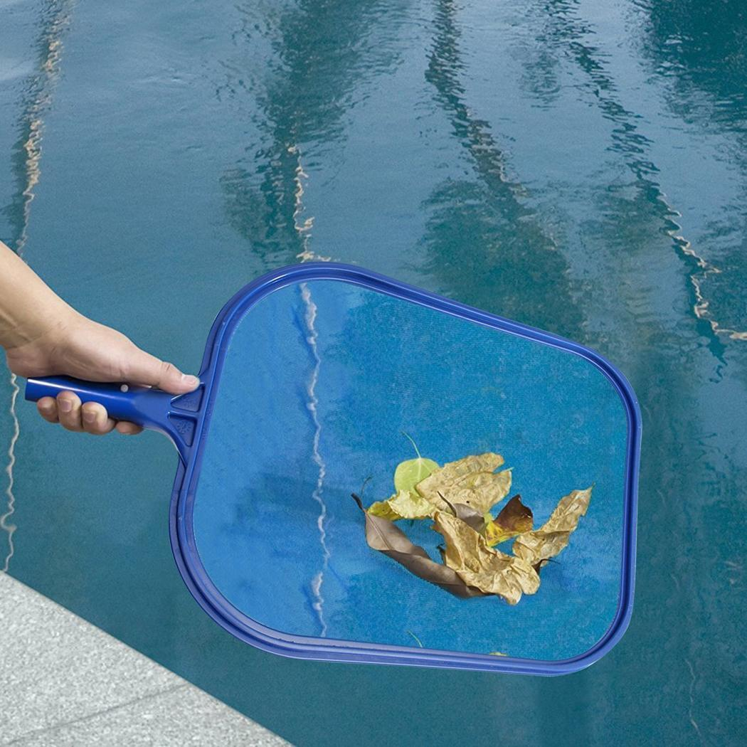 US $3.05 37% OFF|Professional Blue Plastic Leaf Rake Mesh Net Skimmer Clean  Swimming Pool Tool Leaf Skimmer Net-in Pool & Accessories from Sports & ...