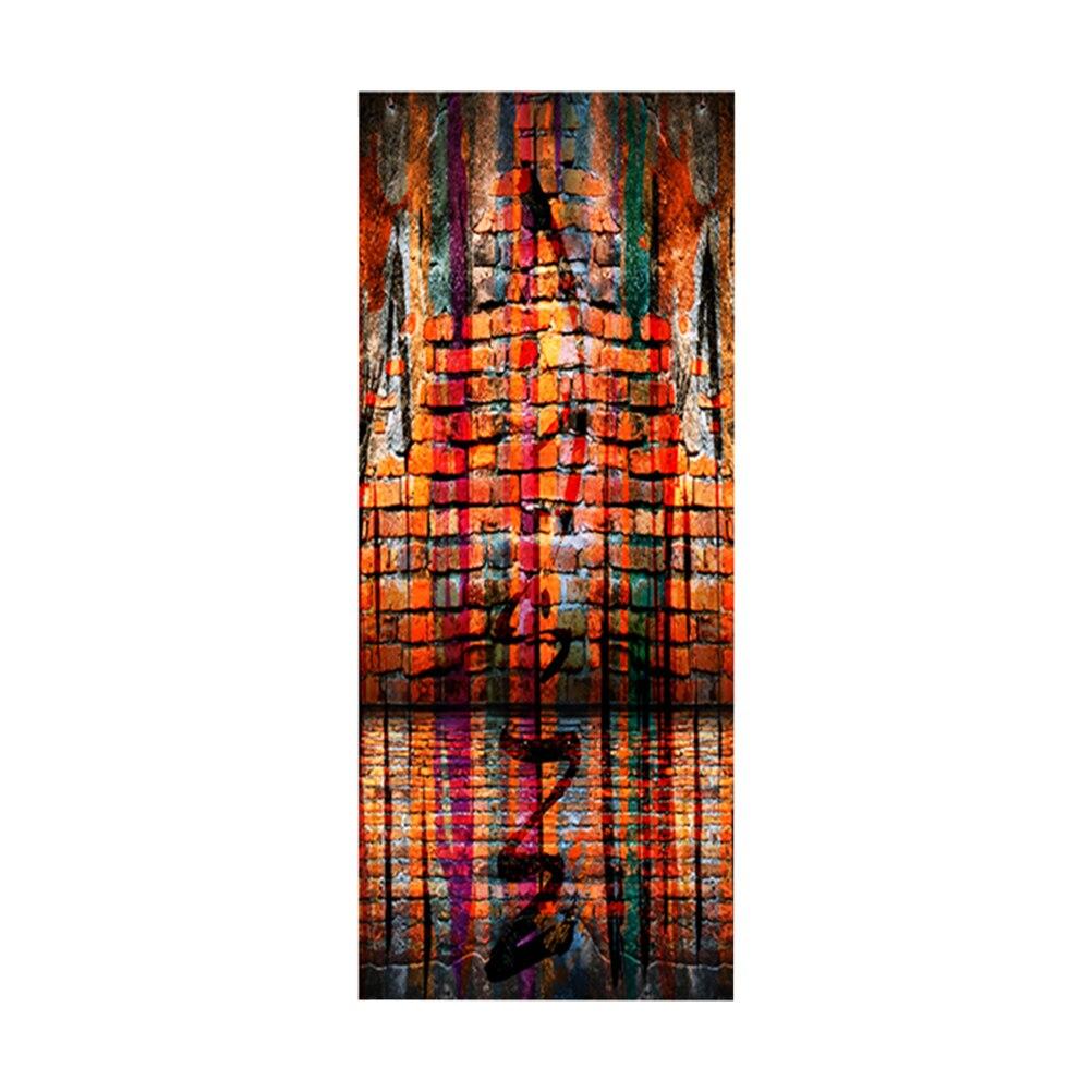 1 Pc Schmuck Tür Aufkleber Verdickt Abnehmbare Selbst Adhesive Decals Tapeten Wand Aufkleber Für Home Schlafzimmer Wohnzimmer