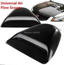 JDM Universal Black ABS Plastic Racing Air Flow Vent Turbo Hood Scoop Cover