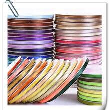 Новые ленты высокой плотности, ширина 6 мм, длина около 91 м, ручная работа, сделай сам, бант, украшение, подарочная упаковка для выпечки, пояс с цветами