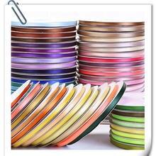 Nova Alta-densidade 6 fitas de Largura mm Comprimento Sobre 91 metros DIY handmade arco decoração cinto de presente de embalagem de cozimento com flores