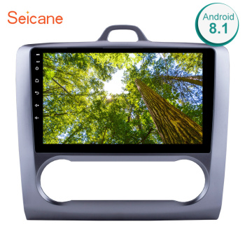 Seicane 9 Android 8.1 Car Radio GPS Navigation Multimedia Player Head Unit For 2004 2005 2006 2007-2011 Ford Focus Exi AT image
