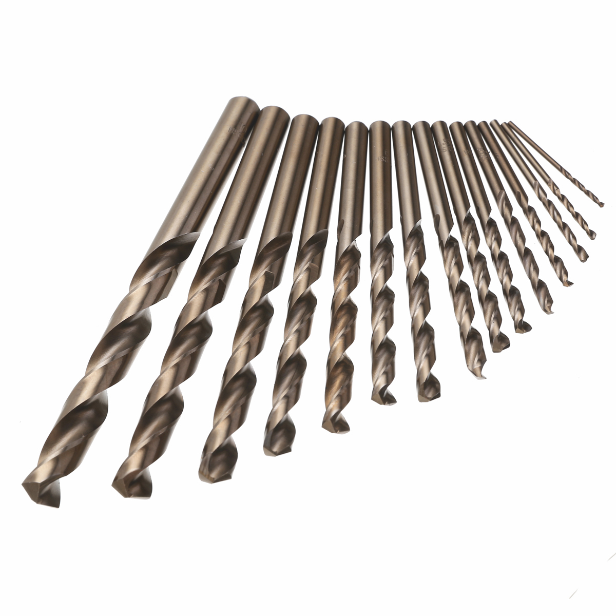 15pcs For Cobalt Twist Drill Bit Metal Cobalt Drill Set for Woodworking Drilling Power Tools Set 1.5-10mm15pcs For Cobalt Twist Drill Bit Metal Cobalt Drill Set for Woodworking Drilling Power Tools Set 1.5-10mm