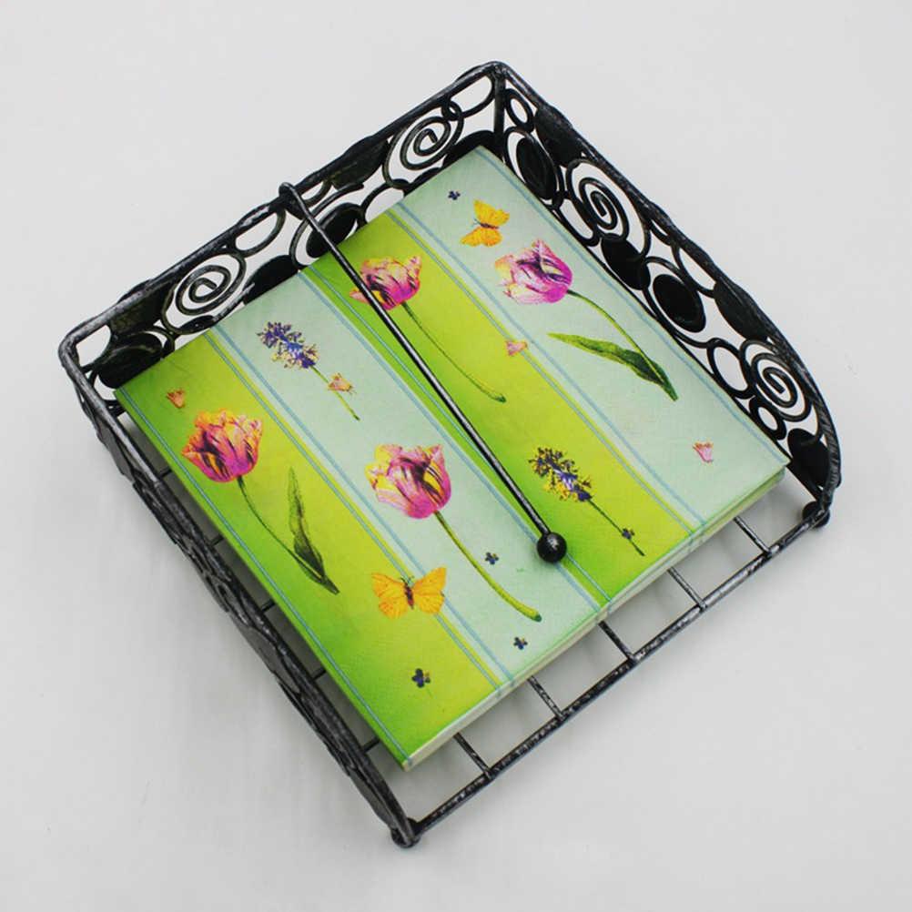2 paczki serwetki drukowane kwiat wzór papier kolorowy ręcznik chusteczki do twarzy na ślub urodziny festiwal Party
