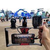 For DJI OSMO Pocket Handheld Gombal Camera Expansion Bracket Phone Holder Dual Handheld Suit Stabilizer Accessories