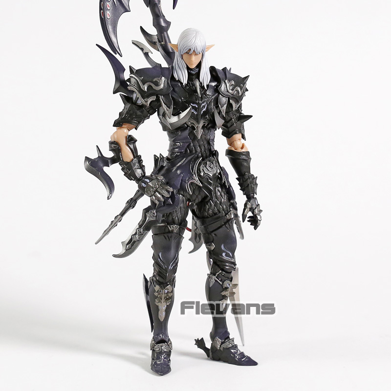 원래 파이널 판타지 xiv estinien azure dragoon pvc 액션 피규어 소장 모델 장난감-에서액션 & 장난감 숫자부터 완구 & 취미 의  그룹 1
