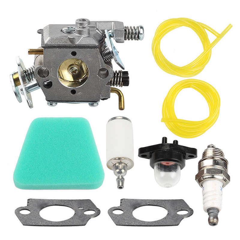 Carburetor Kit Fit Poulan 262 1900 1950 Chainsaw Walbro WT-891A WT-324-1 WT-324