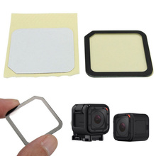 MAYITR 1pc Camera Tempered Glass Lens With Screen Protector Film For Gopro Hero 4 5 Session Accessories