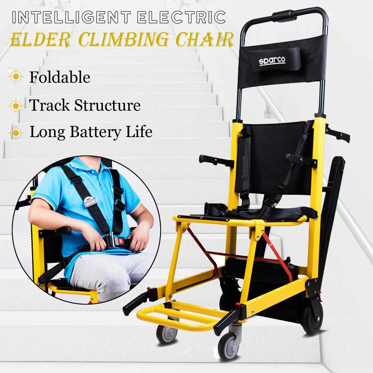 Sport & Unterhaltung FäHig Faltbare Leichte Rollstuhl Für Ältere Behinderte Ältere Motorisierte Klettern Hebe Stuhl Rollstuhl Aufzug Up Treppen Elektro-scooter