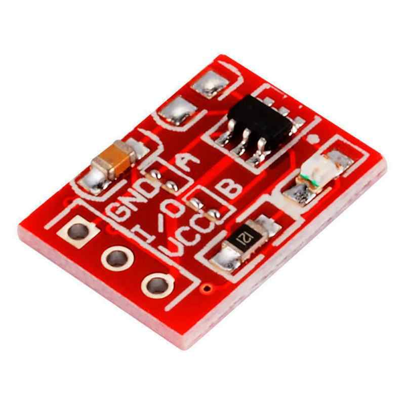 10 Pcs TTP223 Touch button Module Capacitor type Single Channel Self-Locking/No-Locking Capacitive Touch Switches