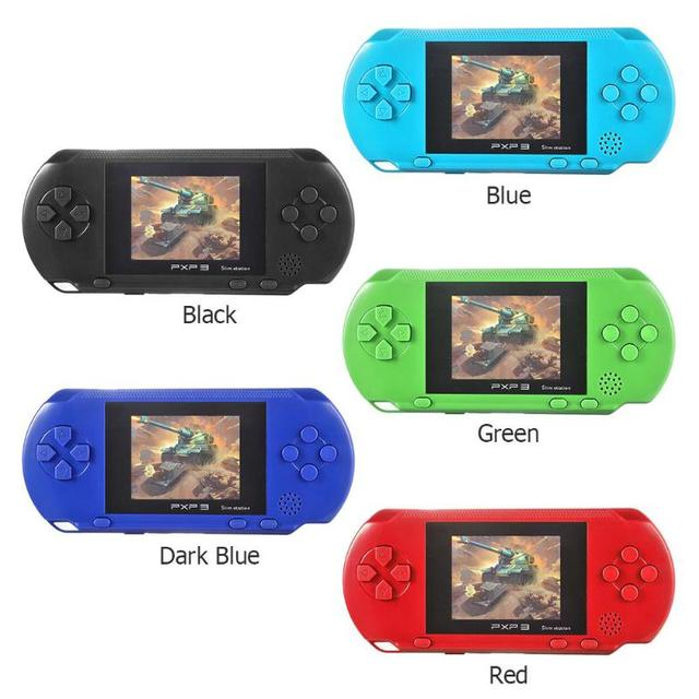 PXP3 Game Console Handheld Portable 16 Bit Retro Children Kids MD2700 Video Game Palyer Built-in 150 Games