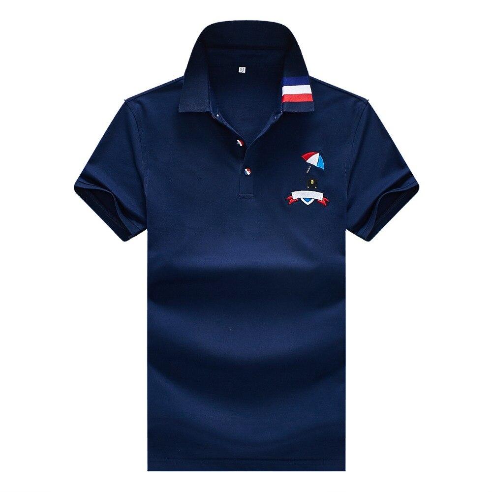 Babykleidung Mädchen Humor 2019 Polo Shirt Männer Neue Sommer Kurzarm Polo Berühmte Marke Solide Atmungsaktive Baumwolle Atmungsaktiv Polo Mode Casual Camisa Moderate Kosten