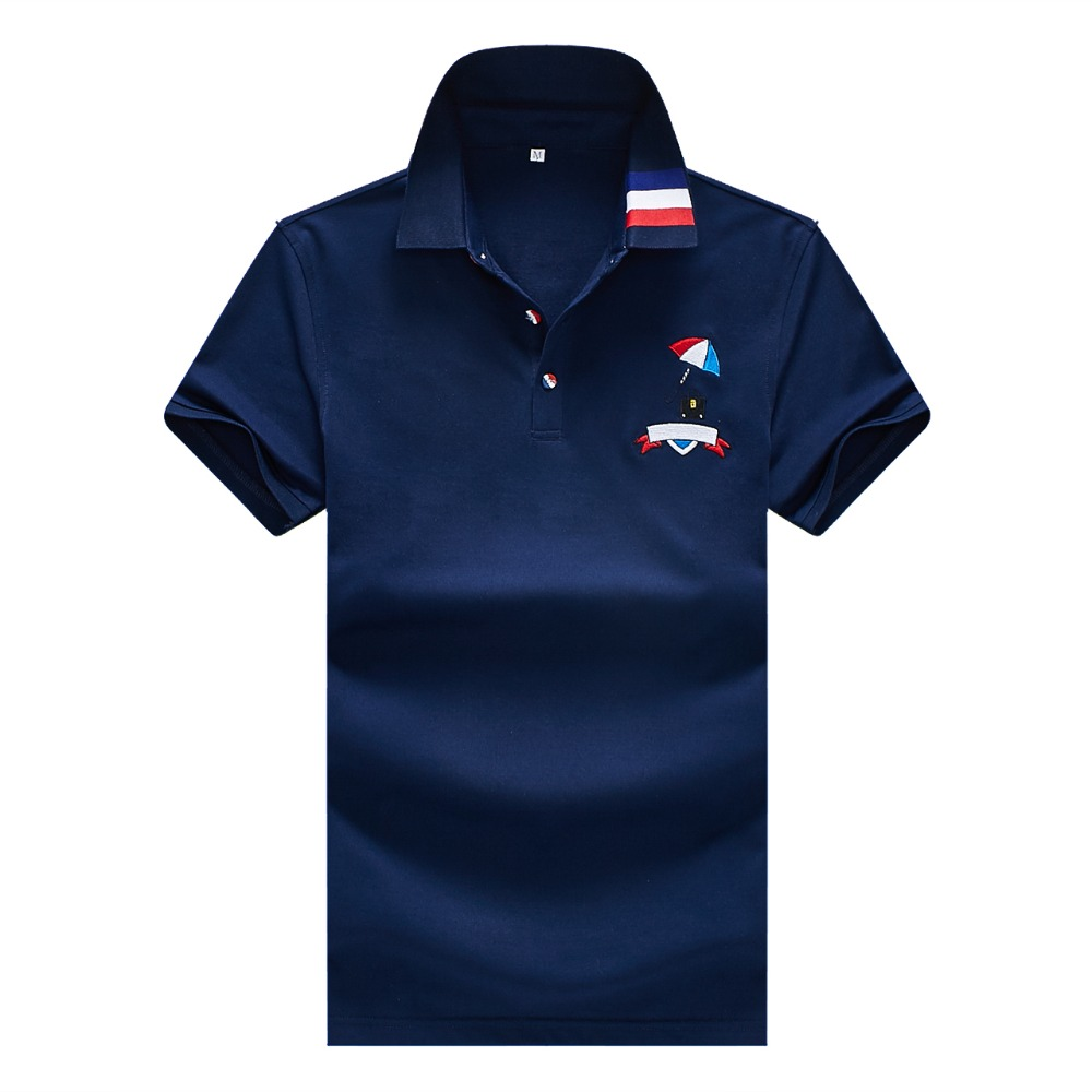 2019   Polo   shirt men new summer short sleeve poloshirt famous brand solid brethable cotton breathable   polo   fashion casual camisa