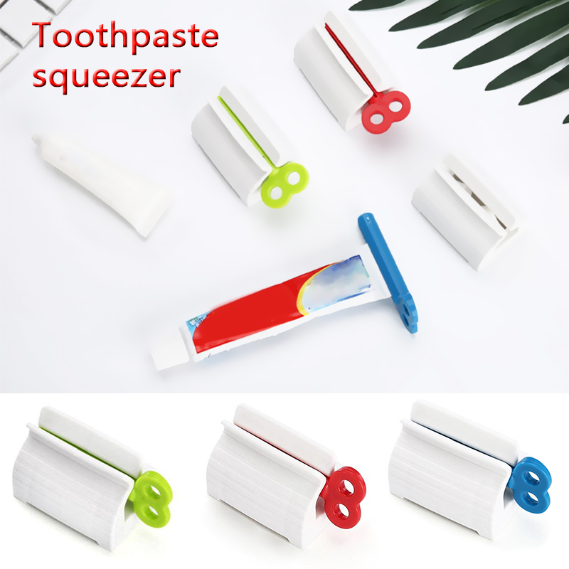 Rolling Tube  Squeezing Dispenser  Bathroom  Squeezer Tooth Paste Squeezer Toothpaste Dispenser Cream Tube  Multifunctional