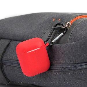Image 3 - Силиконовый мягкий чехол для Airpods, противоударный защитный чехол для наушников Air Pods, водонепроницаемый чехол для iphone 7 8, аксессуары для гарнитуры