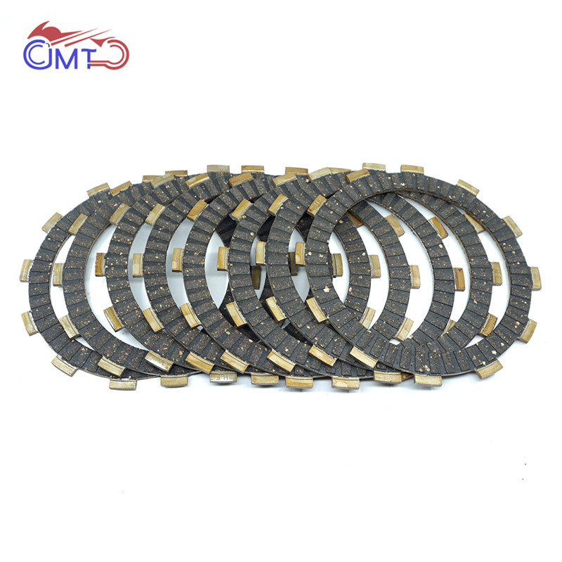For Honda CR125R 2000-2007 CR125 CR 125 R CRF250R 2004-2007 CRF250 CRF 250 R Clutch Friction Disc Plate Kit 8P Set 2005 2006