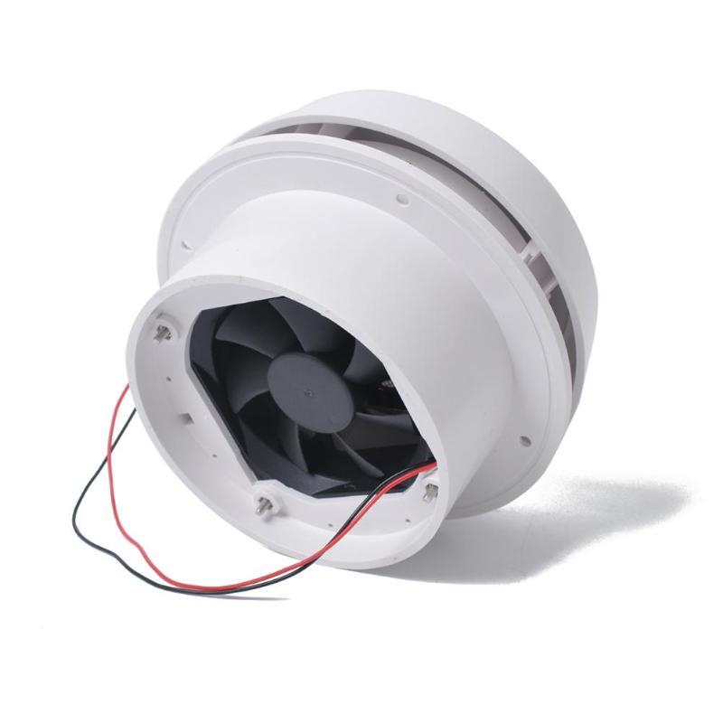 12 V RV Toit D'air Grille D'aération avec Ventilateur Silencieux D'été Voyage Remorque Van Évent de Plafond RV Auto Accessoires Intérieurs De Voiture
