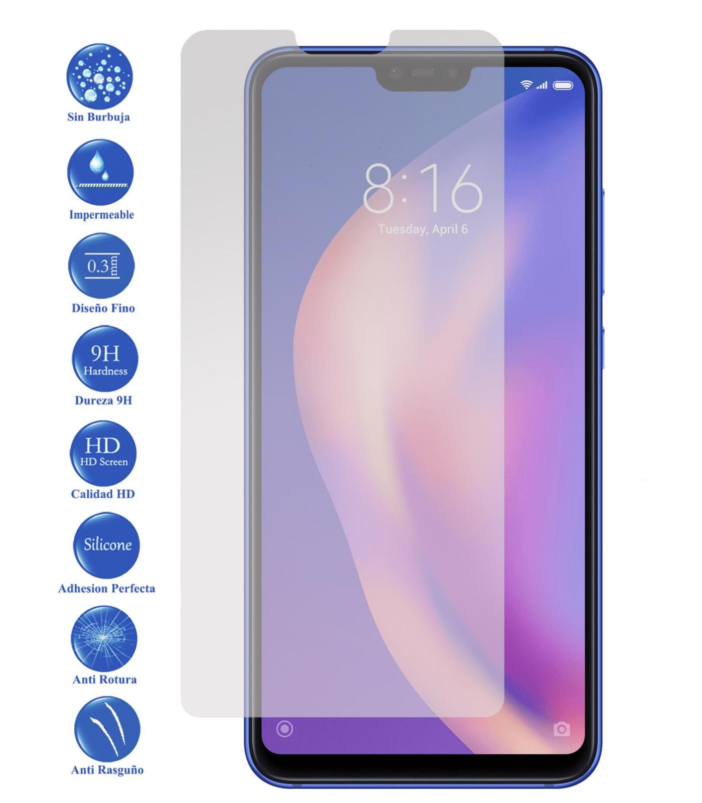 Tempered Glass LCD cover screen protector vidrio 9 H Premium for Xiaomi MI 8 Lite