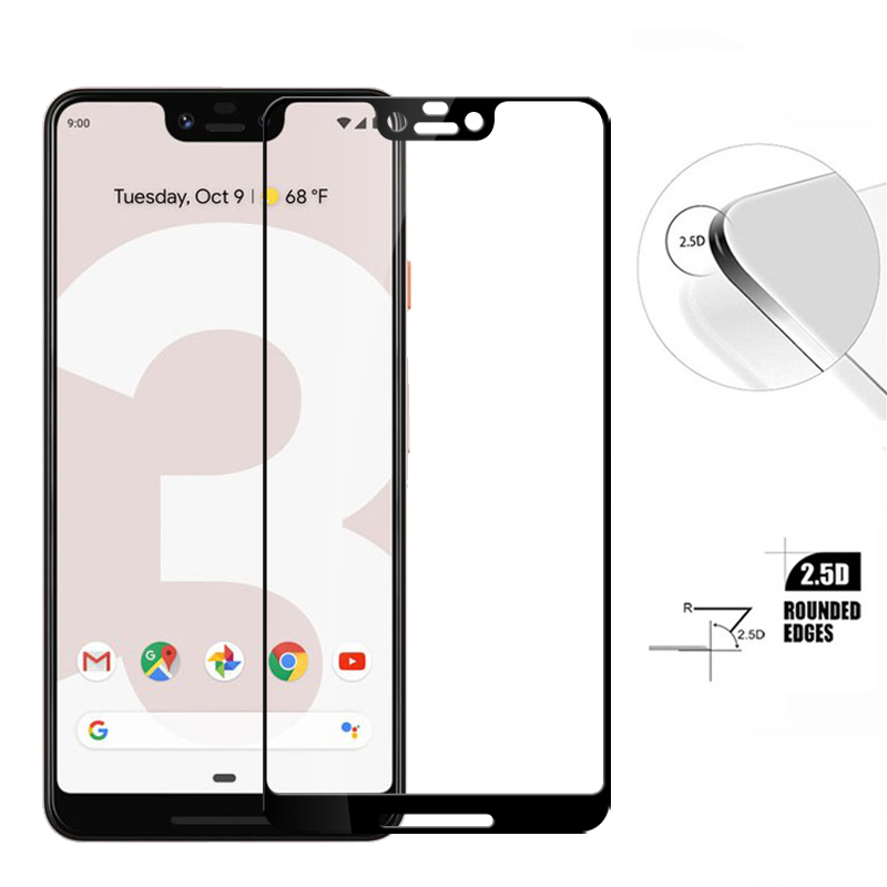 Protective Glass For Google pixel 2 3 xl Tempered Glass Screen Protector For Google pixel2 pixel3 xl 2xl 3xl protective Film image