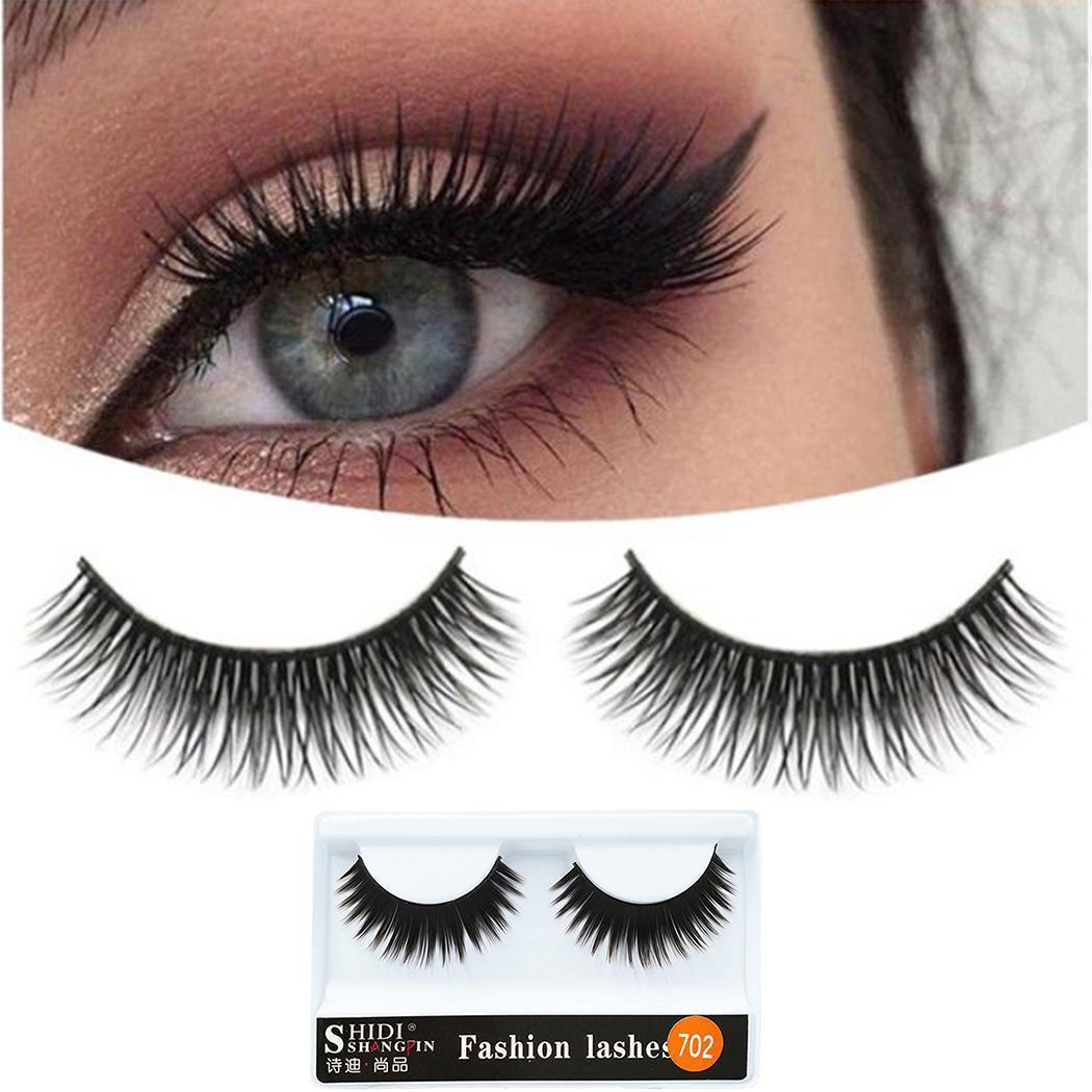 c41d7acd568 New 1 pairs 5cm natural false eyelashes fake lashes long makeup 3D mink  lashes extension eyelash mink eyelashes for beauty