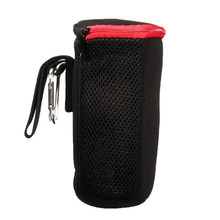 Portable Speaker Case Protective Case Cover Zipp Bag Zipper Bag for JBL Pulse/Charge/Charge 2 Bluetooth Speaker, Black + Red(China)