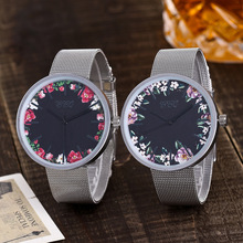 Black Flower Watch Women Watches Ladies 2019 Brand Luxury Famous Female Clock Quartz Watch Wrist Relogio Feminino Reloj Mujer vogue flower printed women ladies watches quartz retro leather band female clock analog wrist watch relogio feminino reloj