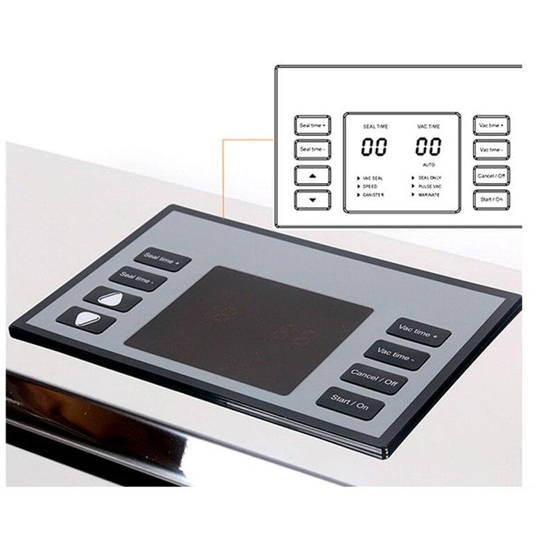 ITOP Semi commerciale e Alimentare Vacuum Sealer Macchina Con I Sacchetti Sottovuoto Confezionamento Sottovuoto Macchina Per Sottovuoto Packer 110V - 4