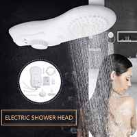 6500W 110V/220V Electric Heaters Shower Head Instant Electric Tankless Water Heater for bathroom heater Water Head