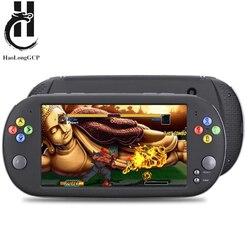 HaoLongGCP Palmare 7 pollici Retro Video Console di Gioco per ps1 per neogeo 8/16/32 giochi del bit 8 GB con 1500 giochi gratis supporto TV Out