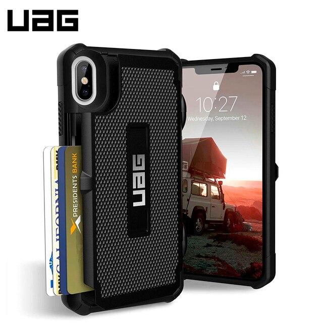 Защитный чехол UAG для iPhone XS Max серия Trooper цвет черный/111104114040/32/4
